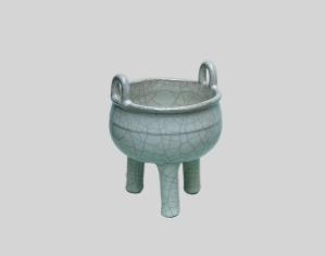 北宋官瓷在洗刷油污等积垢时应掌握哪些技巧和方法?